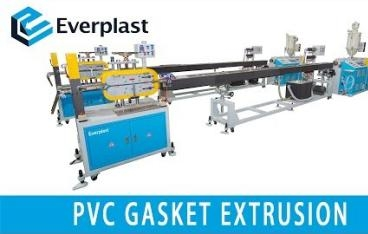 EMS-55 PVC Gasket Extursion Machine Line